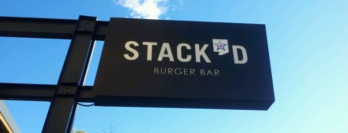 Stack'd Burger Bar is one of Walker's Point Milwaukee.