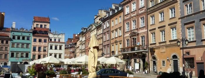 Rynek Starego Miasta is one of 36 hours in...Warsaw.