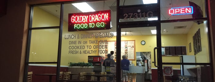 Golden Dragon Chinese Food is one of Toni: сохраненные места.