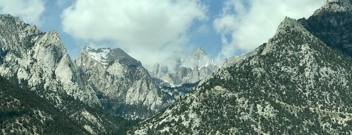 Mount Whitney is one of Sequoia National Park.