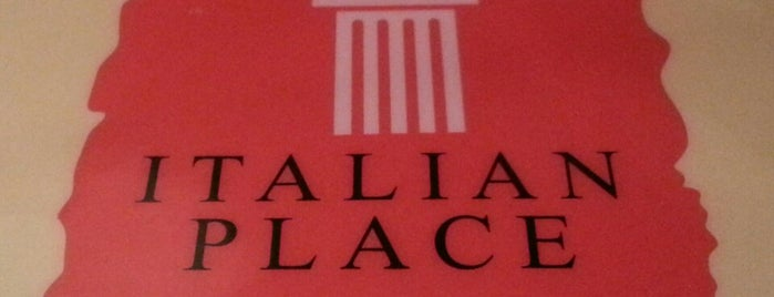 Italian Place is one of Gastronomia.