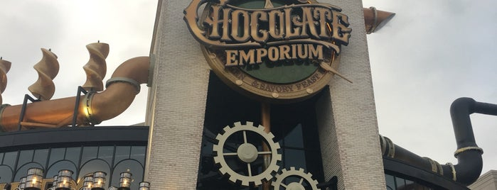 Toothsome Chocolate Emporium and Savory Feast Kitchen is one of The 15 Best Family-Friendly Places in Orlando.