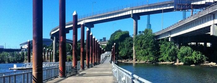 Vera Katz Eastbank Esplanade is one of Top urban bike paths in the U.S..