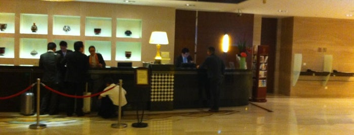 Shanghai Int'l Equatorial Hotel is one of China.