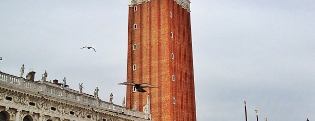 Campanile Di San Marco is one of Venice.