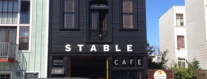 Stable Cafe is one of San Francisco Caffeine Crawl.