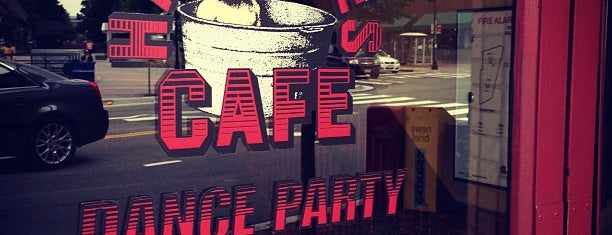 Hard Times Cafe is one of Local Redskins Rally Bars.