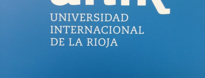 Universidad Internacional de La Rioja is one of Sitios preferidos.