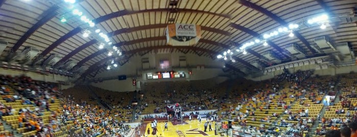 Cassell Coliseum is one of Sports Venues I've Worked At.