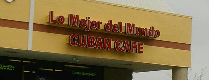 "Lo mejor Del Mundo ""Cuban Cafe"" is one of Business contacts."