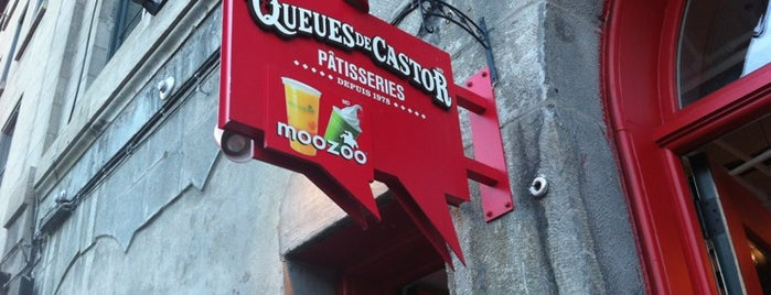 Queues de Castor is one of Restaurants.