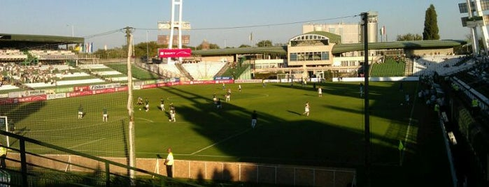 Albert Flórián Stadion is one of Stadionok.
