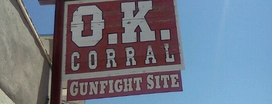 O.K. Corral is one of The West.