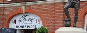 The Cafè At Craven Cottage is one of Fulham Official Bars, Restaurants and Retail.