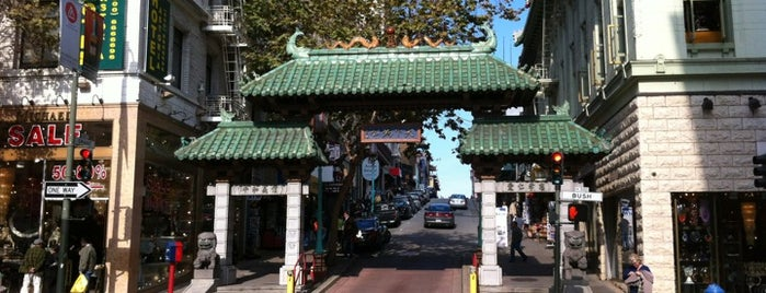Chinatown Gate is one of Great City By The Bay - San Francisco, CA #visitUS.