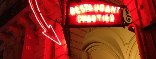 Bouillon Chartier is one of Cheap Eats in Paris.