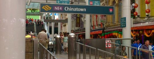 Chinatown MRT Interchange (NE4/DT19) is one of Transport SG.