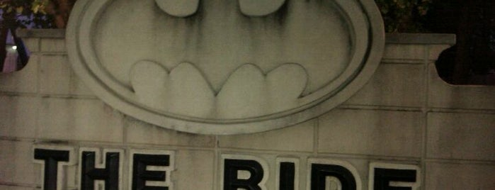 Batman: The Ride is one of The 4sqLoveStory.