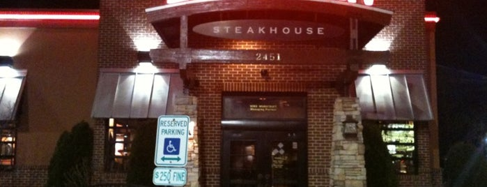 LongHorn Steakhouse is one of Highly Recommended Restaurants.