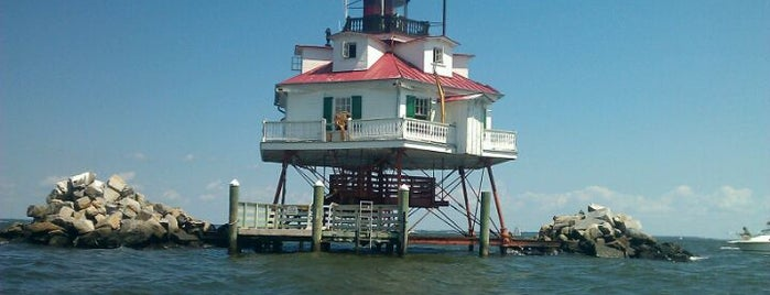 Thomas Point Lighthouse is one of The Great Outdoors.