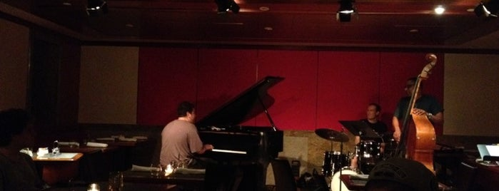"""The Jazz Room at The Kitano is one of """"Be Robin Hood #121212 Concert"""" @ New York!."""