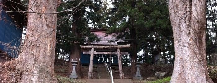 智和伎神社 (金勢神社) is one of Shinto shrine in Morioka.
