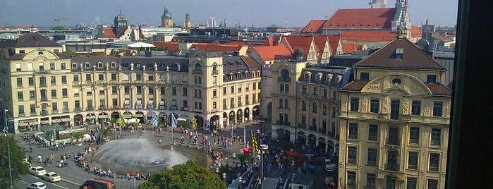 Karlsplatz (Stachus) is one of Munich Sights.