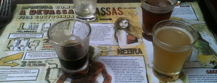 Cervejaria Devassa is one of Rio de Janeiro's best places ever #4sqCities.