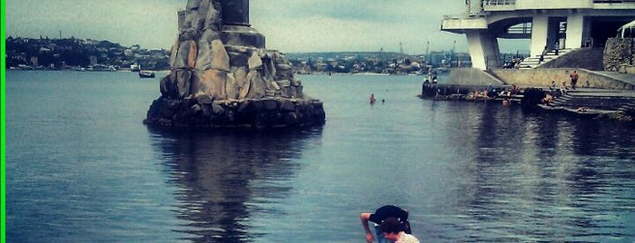 Памятник затопленным кораблям is one of Крым / Crimea.