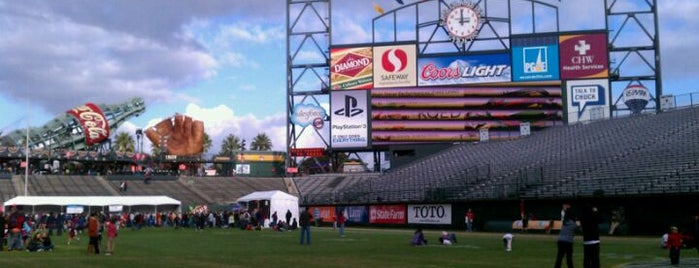 AT&T Park is one of Ballparks Across Baseball.