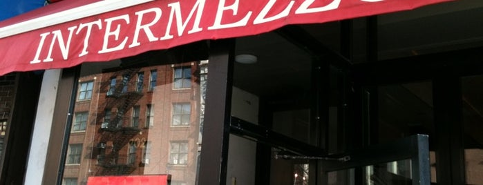 Intermezzo is one of NYC grub.