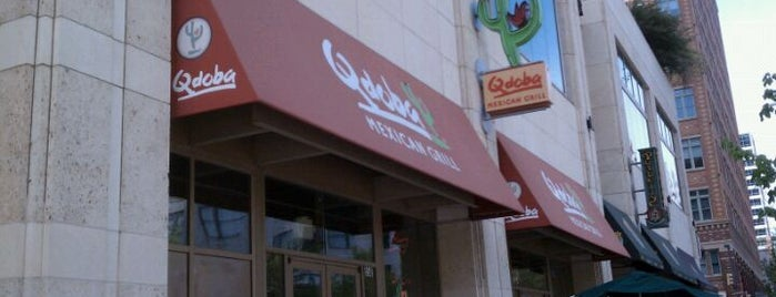 Qdoba Mexican Grill is one of Single joints of Ft worth.