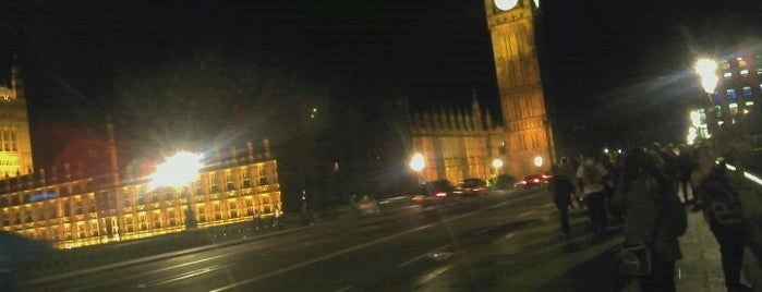 Westminster Bridge is one of World Sites.