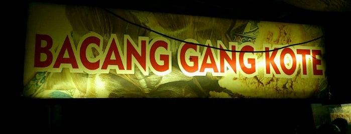 Bacang Gang Kote is one of Food Spots @Bandung.