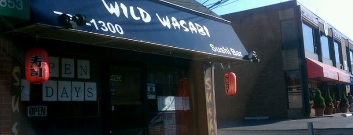 Wild Wasabi is one of Pascack Eats.