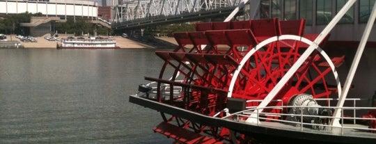 BB Riverboats: Belle of Cincinnati is one of Cincinnati for Out-of-Towners #VisitUS.