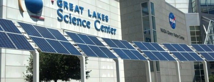 Great Lakes Science Center is one of Enjoy Cleveland.
