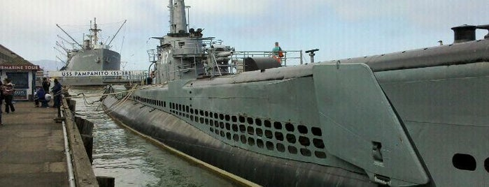 USS Pampanito is one of Wes' guide to SF.