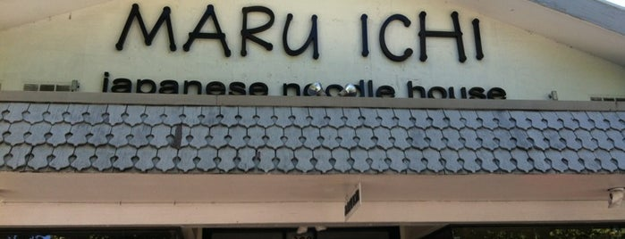 Maru Ichi Japanese Noodle House is one of Restaurant.