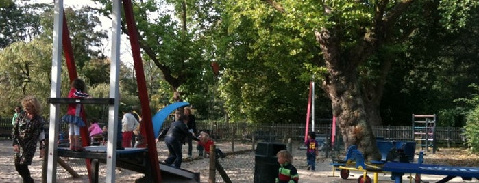 Speeltuin Groot Melkhuis is one of Kids Guide. Amsterdam with children 100 spots.