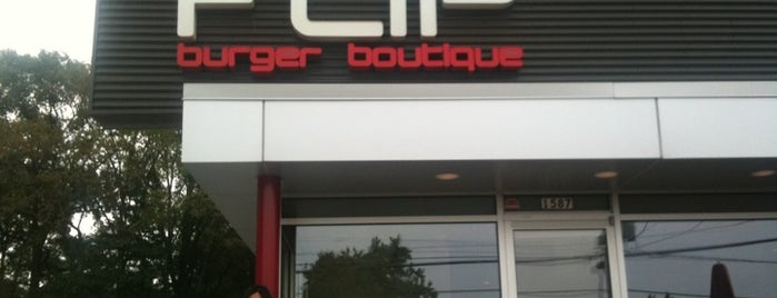 FLiP Burger Boutique is one of Top Chef Competitors' Restaurants.