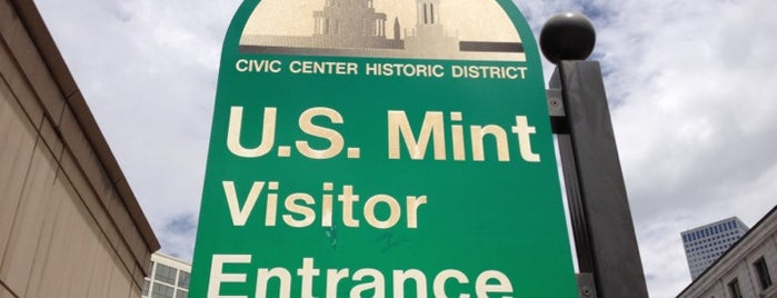 United States Mint is one of Flying High in Colorado.
