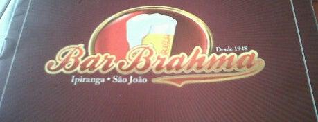 Bar Brahma is one of em Sampa.