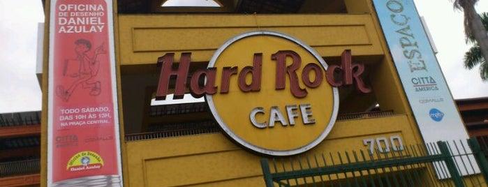Hard Rock Cafe Rio de Janeiro is one of Guide to Rio de Janeiro's best spots.