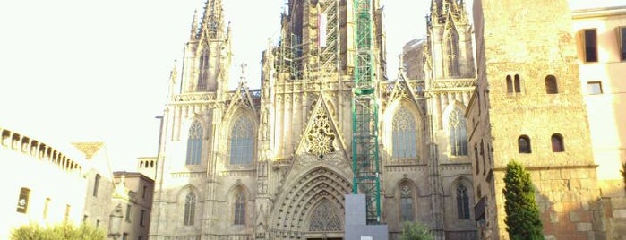 Cathedral of Saint Eulalia of Barcelona is one of Catedrales de España / Cathedrals of Spain.