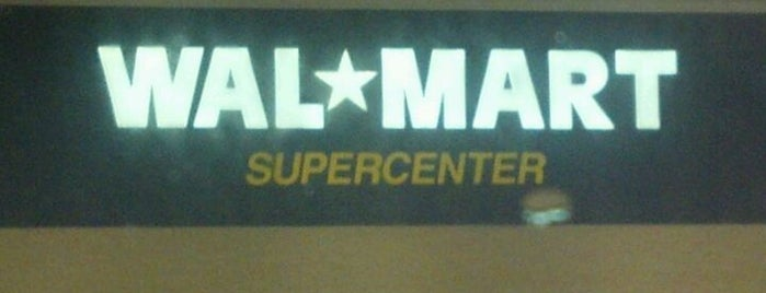 Walmart Supercenter is one of Everyday College Life.