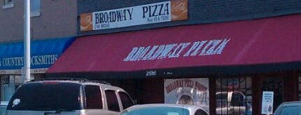 Broadway Pizza is one of Must-visit Food in Memphis.