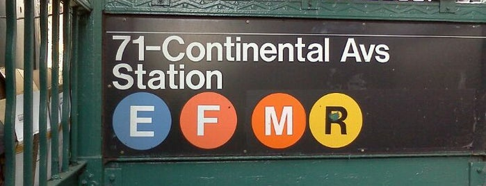 MTA Subway - Forest Hills/71st Ave (E/F/M/R) is one of MTA Subway - F Line.
