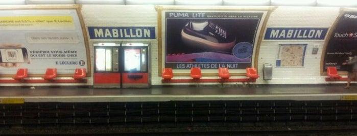 Métro Mabillon [10] is one of Stations de metro a Paris.
