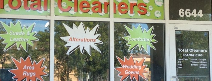 Total Cleaners is one of market.